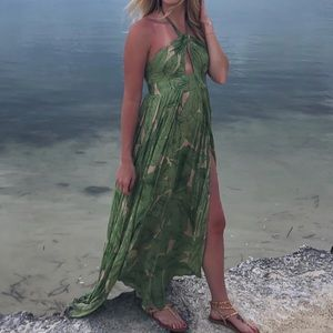 Urban Outfitters linen maxi